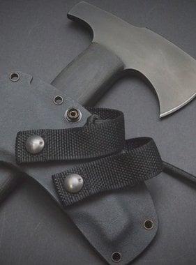 Winkler Knives Combat Axe - Black Micarta - Hammerpole