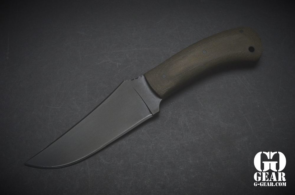 Winkler Knives Winkler Knives - Belt Knife - OD Green Micarta