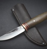 Behring Made Behring Made - Green Micarta Pintail