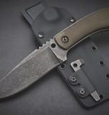 Winkler Knives Winkler Knives -Survial Striker - OD Green Micarta