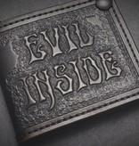 "Harp Leather Harp Leather - Leder-Geldbeutel ""Evil Inside"""
