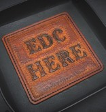 "Harp Leather Harp Leather - Leder-EDC-Schale ""EDC Here"""
