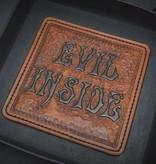 """Harp Leather Harp Leather - Leder-EDC-Schale """"Evil Inside"""""""