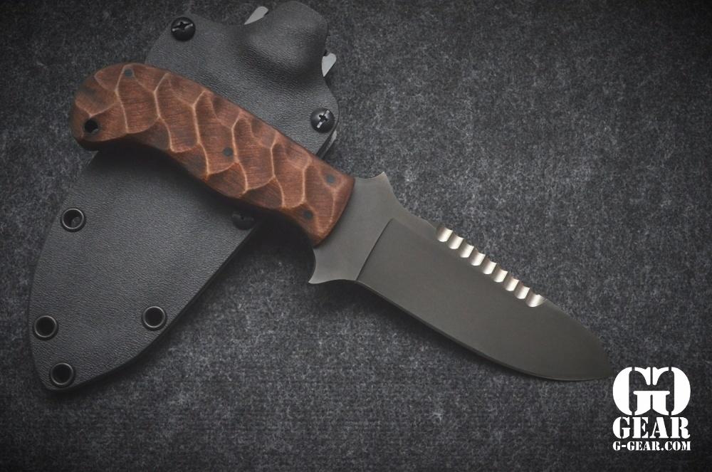 Winkler Knives Winkler Knives - Utility Knife - Sculped Maple