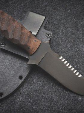 Winkler Knives Utility Knife - Sculped Walnut