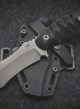 Rustick Knives, LLC Stainless Ripper - Stonewashed