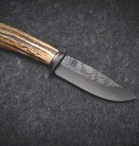 Behring Made Behring Made Knives - Premium Sambar Blued Droppoint