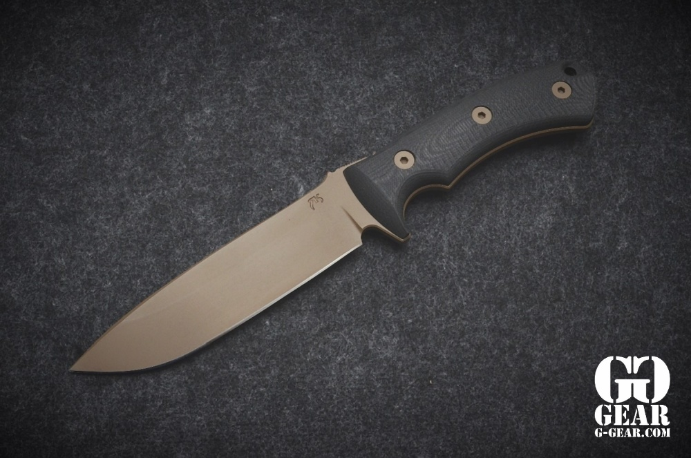 """Rustick Knives, LLC Rustick Knives - Burleson Fieldknife 6"""""""