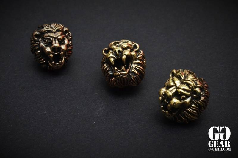Lion ARMory Lion ARMory - Small Lion Head Beads
