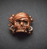 Lion ARMory Lion ARMory - Pirate Skull with Crossbones Bead
