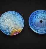 Phoenix Design Pocket Tops Phoenix Design Pocket Tops - Titanium Spinning Coin