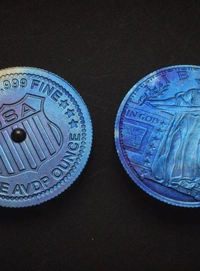 Titanium Spinning Coin