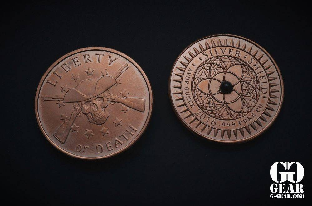 Phoenix Design Pocket Tops - Copper Spinning Coin