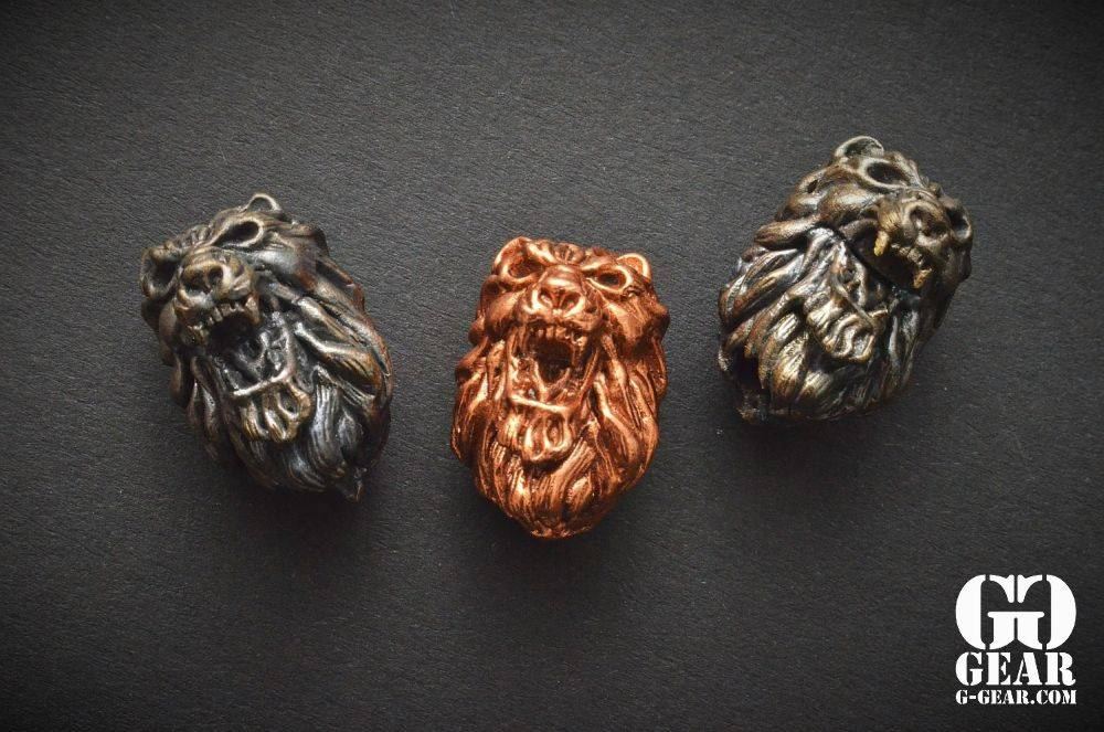 Covenant Gears Covenant Gears - Lion Head Bead