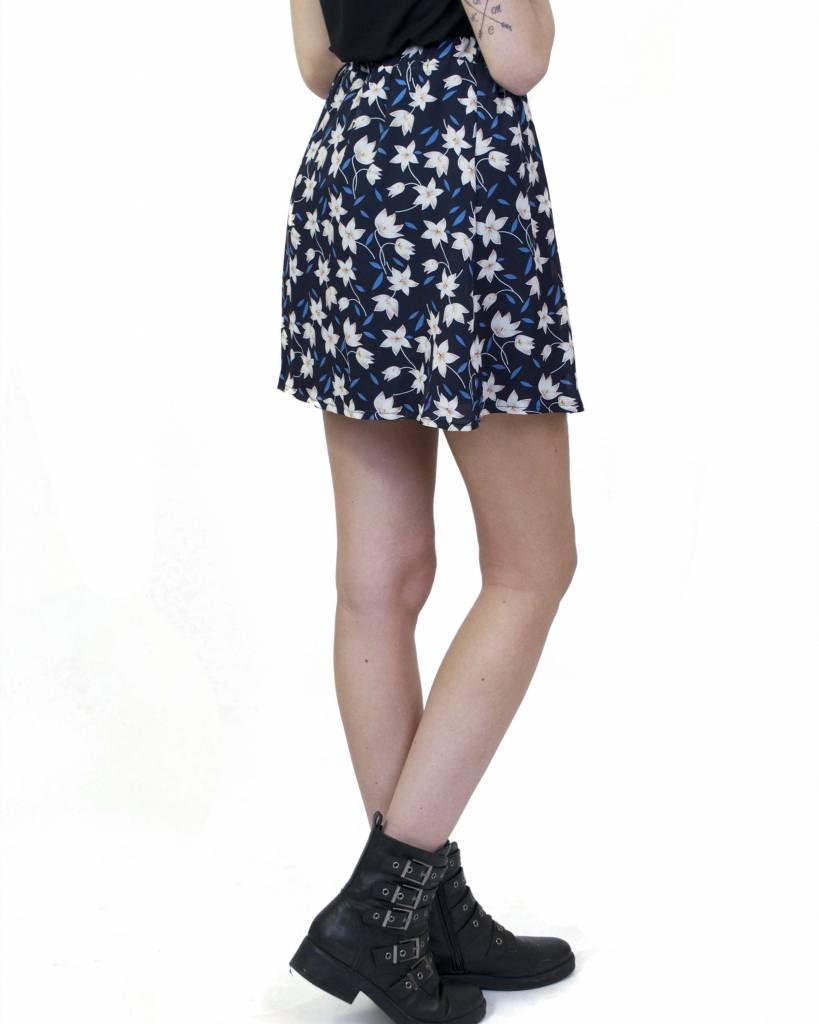 Skirt Flower Blue