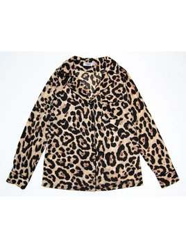 NEW; Blouse Leopard