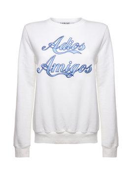 Sweater Adios White