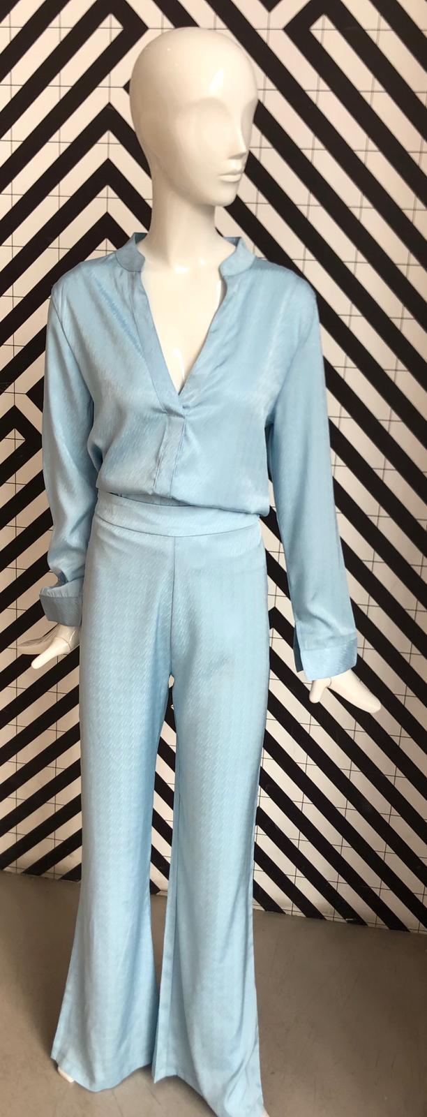 Voyar La Rue Birdie blouse blue