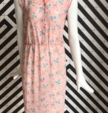 Voyar La Rue Didri maxi dress pink flower