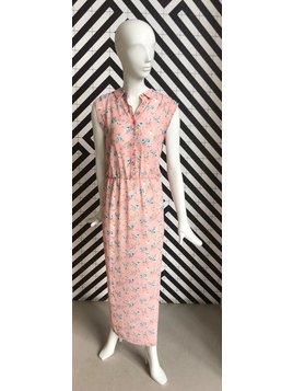 Voyar La Rue Didri maxi dress pink flower