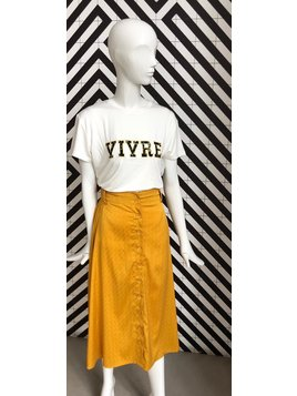 Voyar La Rue Sophia skirt yellow
