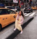 Voyar La Rue Didri maxi dress yellow flower