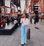 Voyar La Rue Pandora pants blue