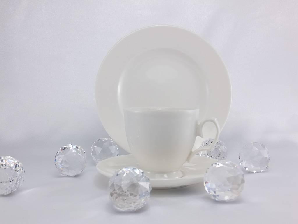 MariaPaula - Ecru - Tasse & Untertasse  in 3 Größen