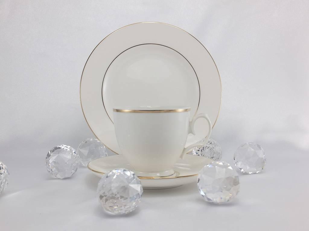 MariaPaula - Ecru / Gold - Musterkollektion 24 -teilig mit 1 Geschenkset