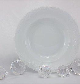 CRISTOFF -1831 Marie - Claire - white - porcelain plate