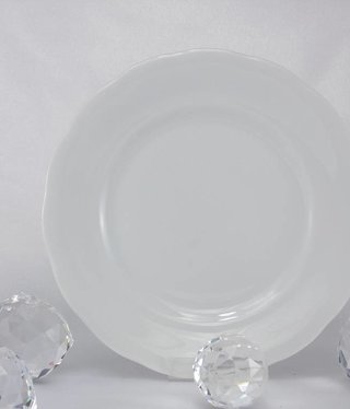 CRISTOFF -1831 Marie - Josee - white - porcelain plate