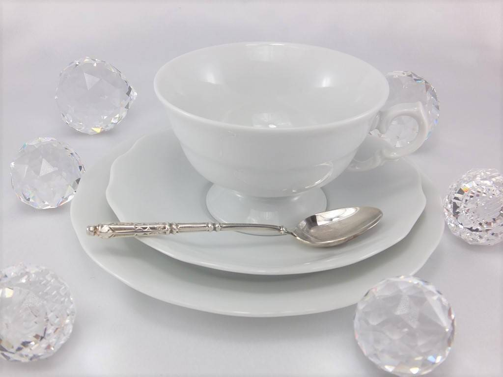 CRISTOFF -1831 Marie - Josee - white - cups with saucers