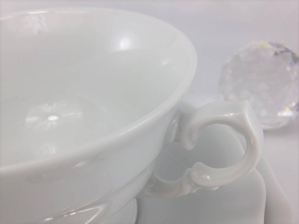 CRISTOFF -1831 Marie - Josee - weiß - Tassen mit Untertassen
