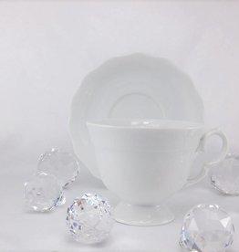CRISTOFF -1831 Marie - Josee - weiß - Tasse mit Untertasse