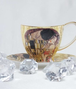 CARMANI - 1990 Gustav Klimt - Der Kuss -Kaffeetasse