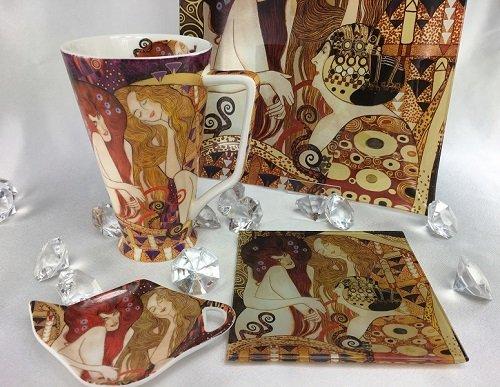 CARMANI - 1990 Gustav Klimt - Glasteller - Beethovenfries