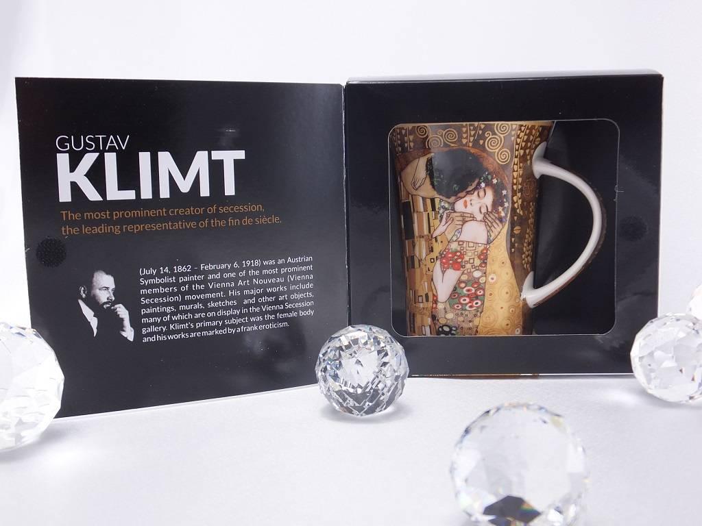 CARMANI - 1990 Gustav Klimt - The Kiss - Coffee cup X in gift box