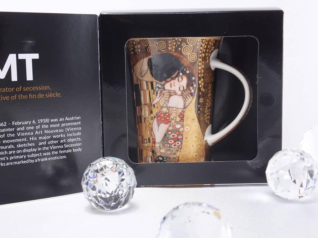 CARMANI - 1990 Gustav Klimt - Der Kuss - Kaffeetasse X in Geschenkbox