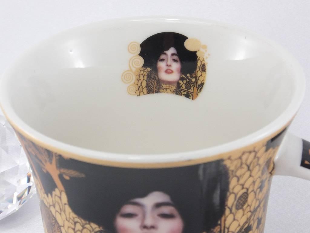 CARMANI - 1990 Gustav Klimt - Judith I - Kaffeetasse in Geschenkbox