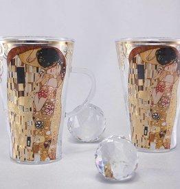 CARMANI - 1990 Gustav Klimt - Latte Macchiato glasses