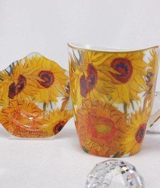 CARMANI - 1990 Van Gogh - Sonnenblumen  - Kaffeetasse Vanessa