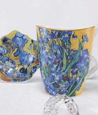 CARMANI - 1990 Van Gogh - Schwertlilien - Kaffeetasse Vanessa