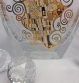 CARMANI - 1990 Gustav Klimt - Der Kuss - Vase / Glasvase I