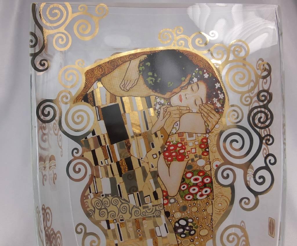 CARMANI - 1990 Gustav Klimt - The Kiss - Vase / Glass Vase I