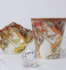 CARMANI - 1990 Alfons Mucha - Spring - coffee mug