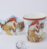 CARMANI - 1990 Alfons Mucha - The Four Seasons - Summer - Coffee Cup
