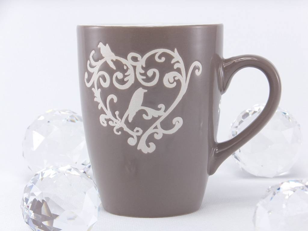 Denver - dekorativ coffee mug with ornament