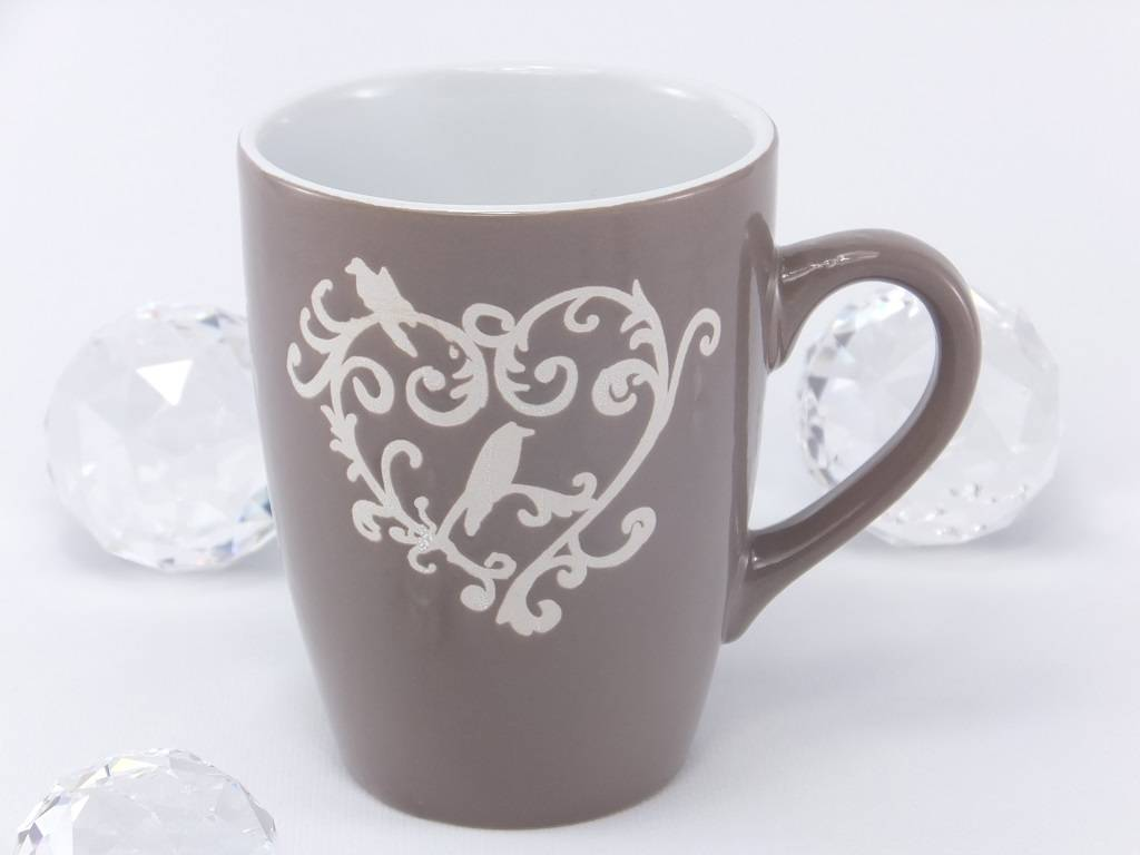 Denver - decorative coffee cup with ornament