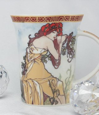 CARMANI - 1990 Alfons Mucha -The Four Seasons -Cup X - Summer