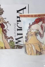 CARMANI - 1990 Alfons Mucha -The Four Seasons - Sommer -Kaffeetasse im Geschenkkarton